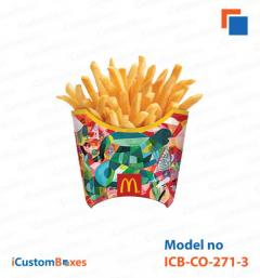 Create your design for french fry boxes