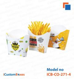 Get 30 Discount on custom french fry box