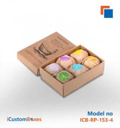 Customize your bath bomb boxes wholesale with free ship