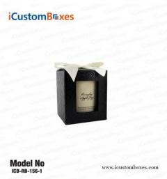 Customize custom candle packaging boxes wholesale