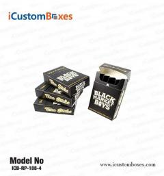 Get custom Pre-Roll Box printing at iCustomBoxes