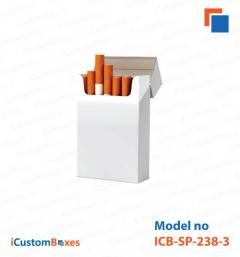 Get custom empty cigarette boxes printing at iCustomBox
