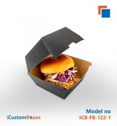 Get a 40 discount at custom Burger Boxes wholesale