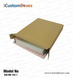 Get packaging for Custom book boxes Containers