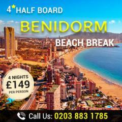 Book Spectacular Benidorm Beach Break Today