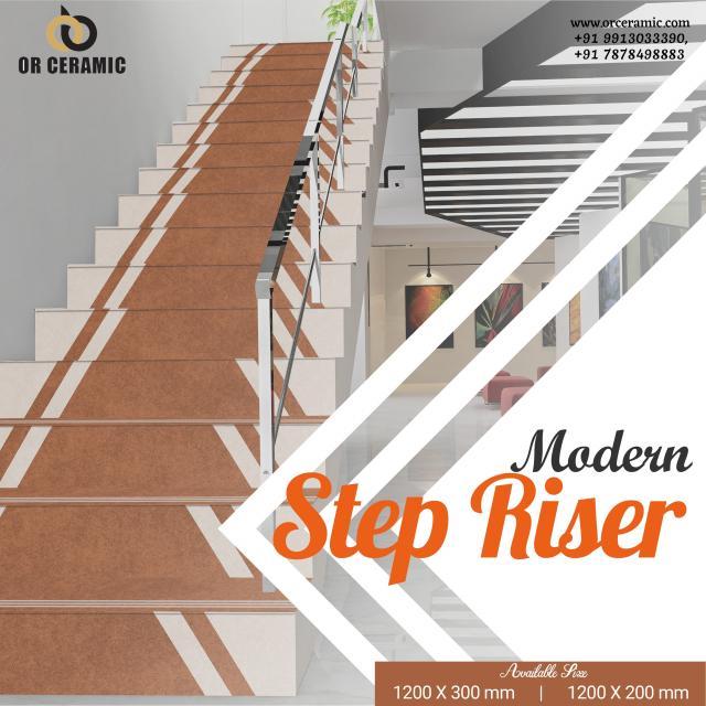 Online Stair Riser Tiles at Best Price  Top Tiles 3 Image