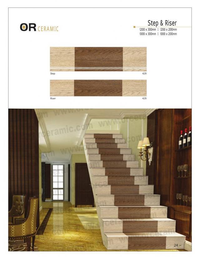 Best Designer Ceramic Step Riser Tiles Collection 3 Image