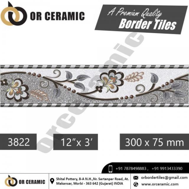 Decorative Border Tiles Design New Arrival Collection 3 Image