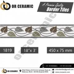 Top Ceramic Border Tile Manufacturer & Exporters