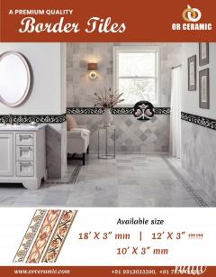 Ceramic Border Tiles at Best Price in India