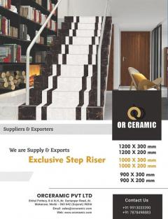 Stair Tiles - Step Riser Tiles Latest Price, Man