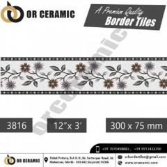 Decorative Border Tiles Design New Arrival Colle