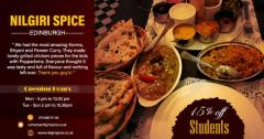 Indian Takeaway Menu  Exclusively Available