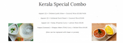 Highly Demandable Food  Appam And Stew  Nilgiri
