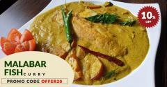 Royal Dining At Nilgiri Spice  Malabar Fish Curry