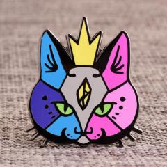 Colorful Cat Custom Pins Cheap
