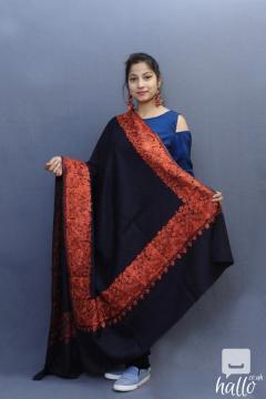 Classic Yet Designer Kashmiri Pashmina Shawls Online