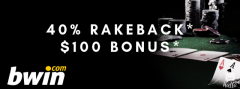 Play Poker Online  - Bwin Poker Rakeback deals