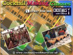 Cocktail making classes in UK - Cocktails with Mario