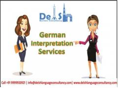 Get best German Interpretation Services in India