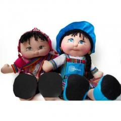 Handmade dolls with all natural materials