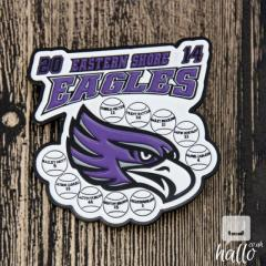 Eastern Shore Eagles Baseball Pins