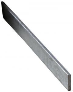 Threshold Water Bar Galvanised 30mm  5mm 1m