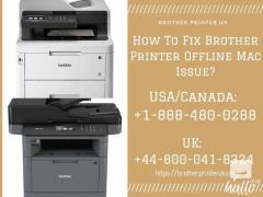 How To Fix Brother Printer Offline Mac Issue 8000418324
