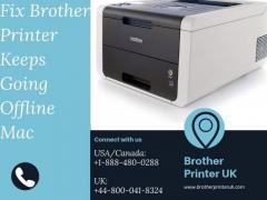 Fix Brother Printer Keeps Going Offline Mac