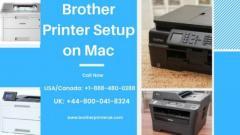 Dial 1-888-480-0288 To Setup Brother Printer on Mac