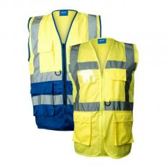 Executive High Visibility Safety Vests Waistcoat
