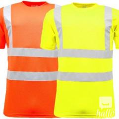 High Visibility Crew Neck T Shirts