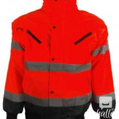 High Visibility Fleece Bodywarmer Reversible  Jacket