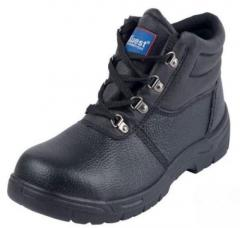 Chukka Safety Work Boots  Leather Steel Toe Cap Shoes