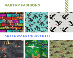 Dreamworks- Universal Fabrics By Partap Fashions in UK