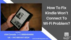 Solution for Kindle Connectivity Issue  44 8000418324