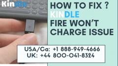 Fix Kindle Wont Charge Issue  Call 44 800-041-8324