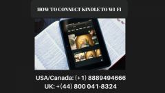 Connect Kindle to Wi-Fi  Call 44-8000418324