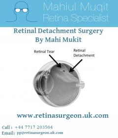 Retinal Detachment Surgery in London