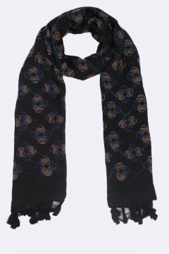 Clover Leaves Square Printed Scarfs