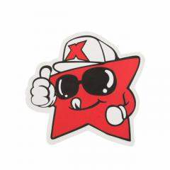 Die Cut Stickers No Minimum | Red Star Custom Stickers