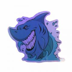 Custom Stickers Cheap No Minimum | Shark Laser Stickers