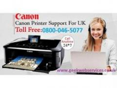 Cannon printer is printing blank pages, how to resolve