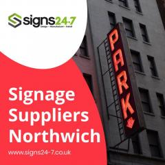 Signage Suppliers in Northwich