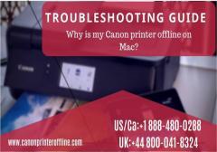 Fix Canon Printer Offline Mac Issue 44-8000418324