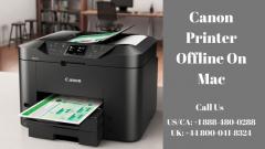 Canon Printer is Offline Mac  Dial 44 800-041-8324
