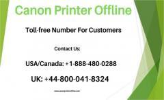 Facing Canon Printer Offline  Call 44-8000418324