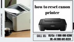 Reset Canon Printer  Call 44-8000418324