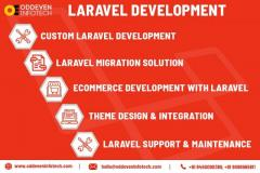 Laravel Web Development Services  Oddeven Infotech