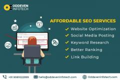 Affordable SEO Services in India  Oddeven Infotech